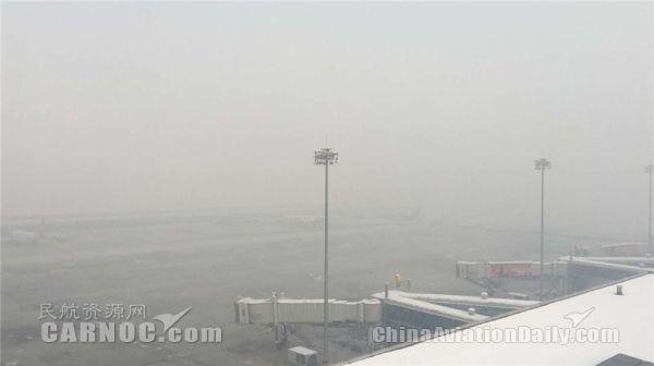 春运遇冻雾 乌鲁木齐机场航班取消16架次