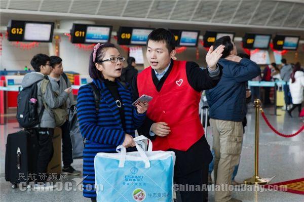 杭州机场春运首日预计运送旅客9.3万人次