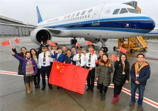空客交付中国用户飞机数量连续7年逾百架