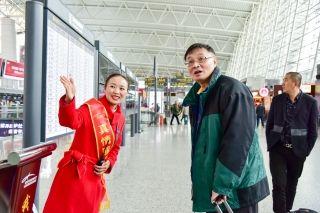 春运首日 白云机场同比增加117个航班