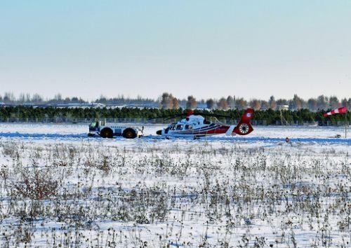 不畏严寒!国产AC312E直升机赴海拉尔高寒试飞