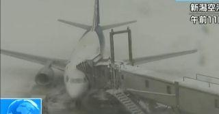 日本大雪 全日空和日本航空取消至少130个航班