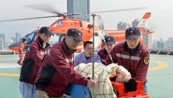 嘉兴第一医院:请市民给空中急救直升机让个位