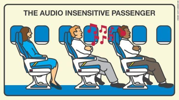 2016航空旅客机上礼仪调研结果新出炉  哪些类型乘客又上榜首?