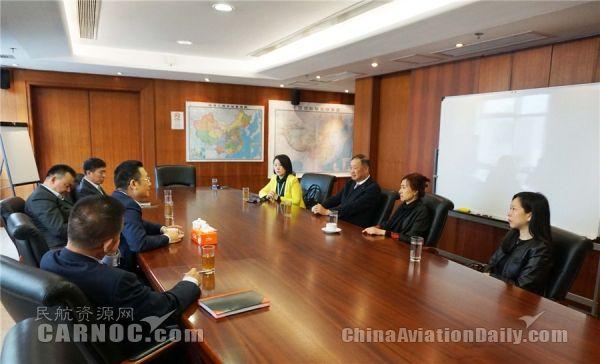 澳门机场主席访澳门航空共同推动本地民航发展