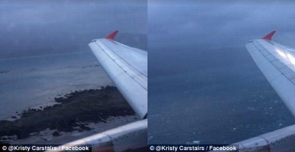【视频】客机狂风暴雨中惊险着陆 客舱响起掌声