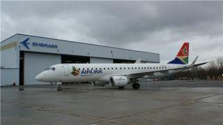 空联航空为巴航工业E系列飞机南非首家运营商