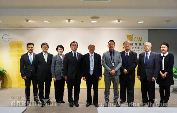 香港生产力促进局来访澳门国际机场