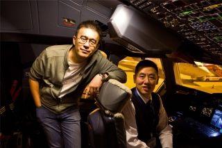 南航明星A380机长 环球旅行首段他带我飞