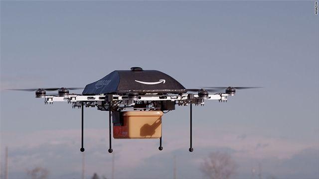 亚马逊要建巨型空中仓库 无人机几分钟内投递