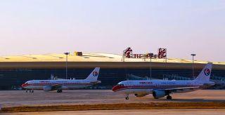 合肥新桥机场迎来春运最后一波客流高峰