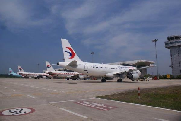 """淮安机场旅客运输量实现""""双过半"""" 同比增长61%"""