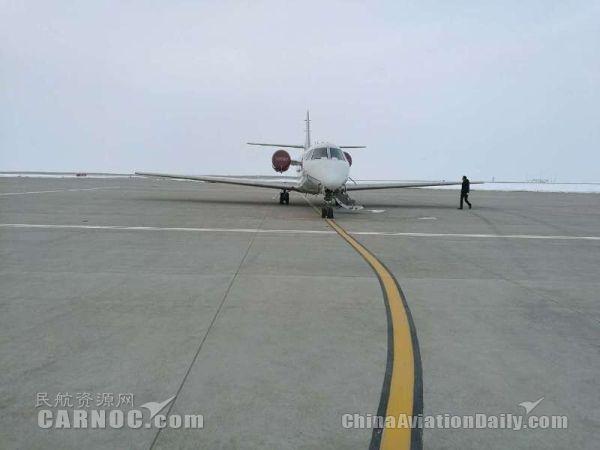 那拉提机场圆满完成2017年首次校飞工作
