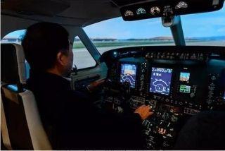首台KingAirC90GTx高性能D级模拟机落户中航大