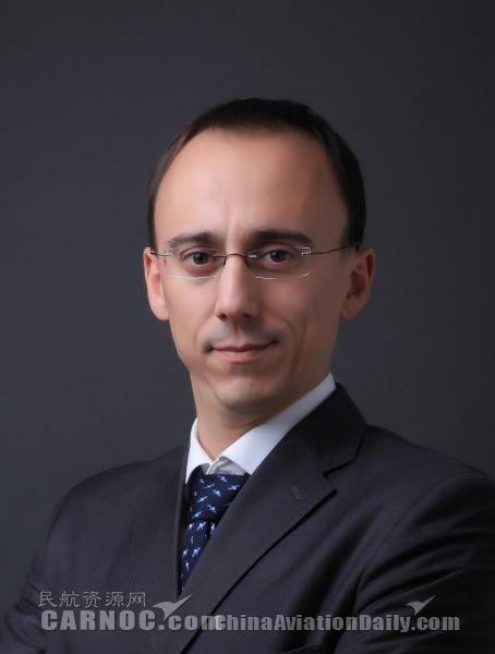 图:阿提哈德航空中国区新任总经理马诺(Germano