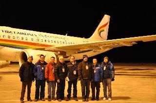 美国GE公司写给西藏航空的一封感谢信