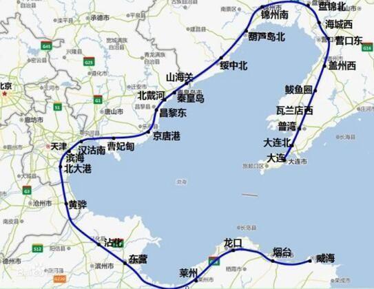 环渤海高铁获批 在河北共设七个站点