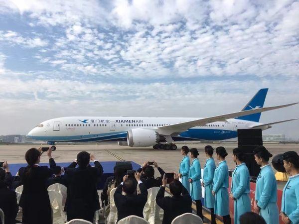 厦航福州至纽约航线开航在即 获华人华侨赞誉