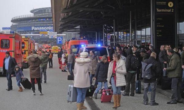 德国汉堡机场关闭 疑逾50余人吸入有毒气体