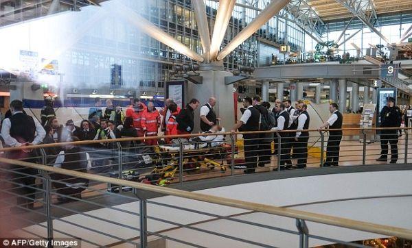 德国汉堡机场68人吸入有毒气体受伤