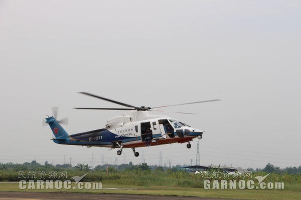 中南局推进国内首家直升机RNP补充审定项目