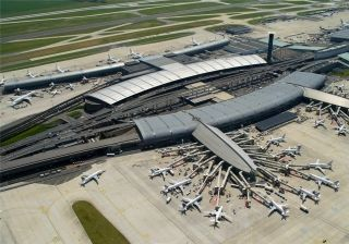 法航在戴高乐机场每日接送旅客10万人次