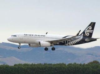 风切变致低空复飞 新西兰客机遭遇严重重着陆