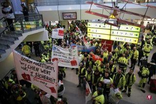 受罢工影响 柏林两座机场航班延误或取消