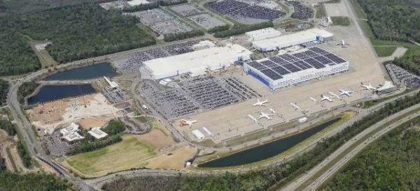 揭秘787-10诞生地:波音南卡工厂