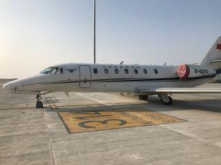 南通机场圆满完成ILS导航设备校飞任务
