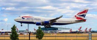 留存50年记忆:英航退役波音747 机迷搜集纪念品