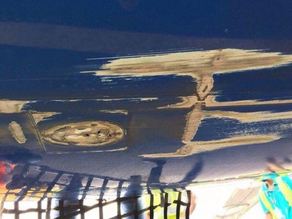 马尔代夫客机降落时擦尾  压力舱壁受损