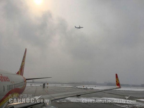 太原机场运行条件转好。民航资源网图片