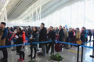 春运40天长沙机场完成旅客吞吐量258万人次