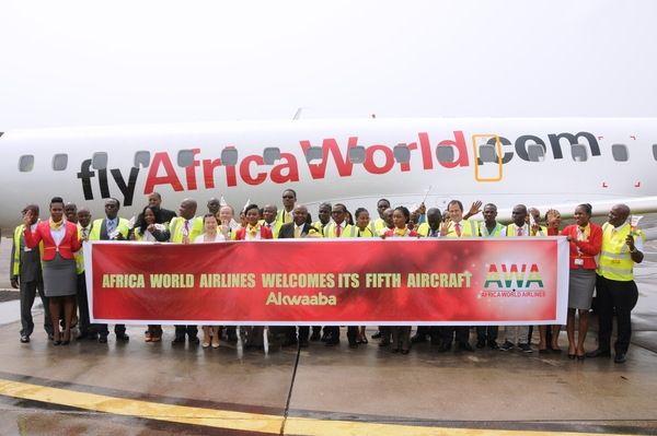 中国加纳合资航司庆祝运营5周年 引入第5架飞机