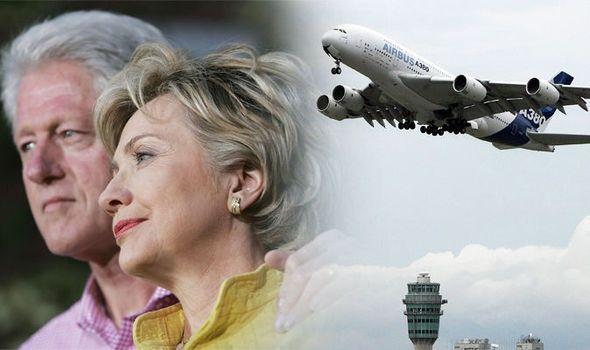 何仇何冤?美参议员欲删机场中克林顿夫妇名字