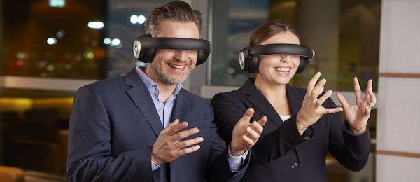 汉莎航空在法兰克福机场引入VR视频眼镜