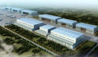 新科宇航G2机库正式投产 可同时检修12架飞机