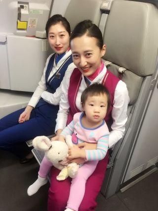"""""""蓝阿姨""""和""""红阿姨""""---婴儿旅客服务知多少"""