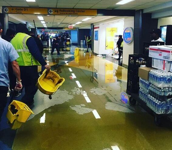 雷击跑道航站楼漏水 这座国际机场不太平