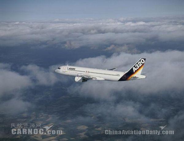 空中客车A320首飞。