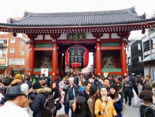 日本各地吸引外国游客的竞争日趋激烈