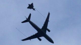 飞机通讯故障与空管失联 比利时英国派3战机拦截