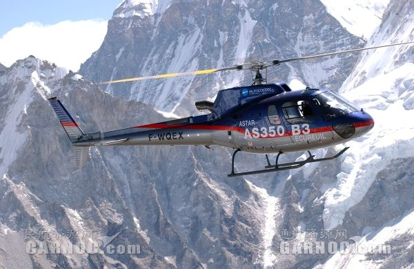 高翔通航以1935.2万购买一架AS350B3直升机