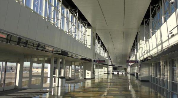 达拉斯-沃斯堡机场候车大厅内部