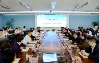 郑州机场安检与航司通力协作保障航班正点率