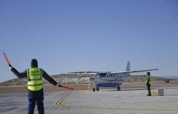 内蒙古通航B300型飞机进行验证飞行检查
