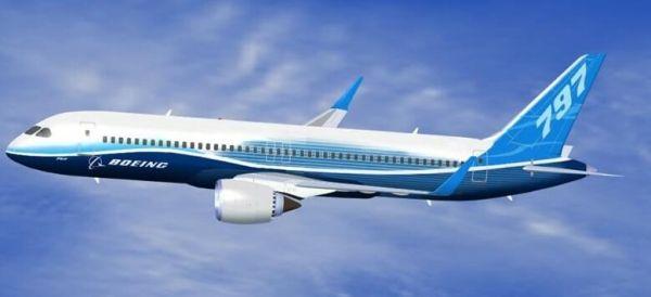 波音797概念公布 最早2025年首航