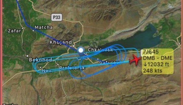 客机爆胎后返航 挂7700代码盘旋3小时后降落