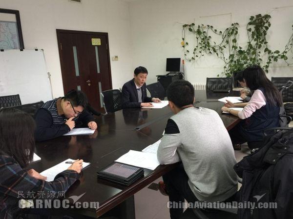 南航新疆指挥部召开B2052退租调机保障会